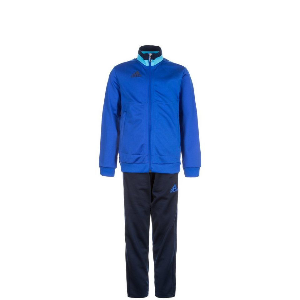 adidas Performance Set: Condivo 16 Polyesteranzug Kinder (Packung, 2 tlg.) in blau / dunkelblau