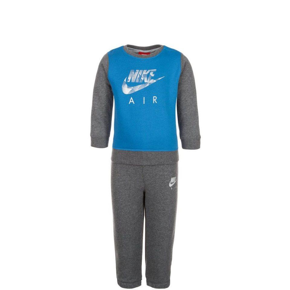Nike Sportswear Set: Air Crew Freizeitanzug Kleinkinder (Packung, 2 tlg.) in grau / blau