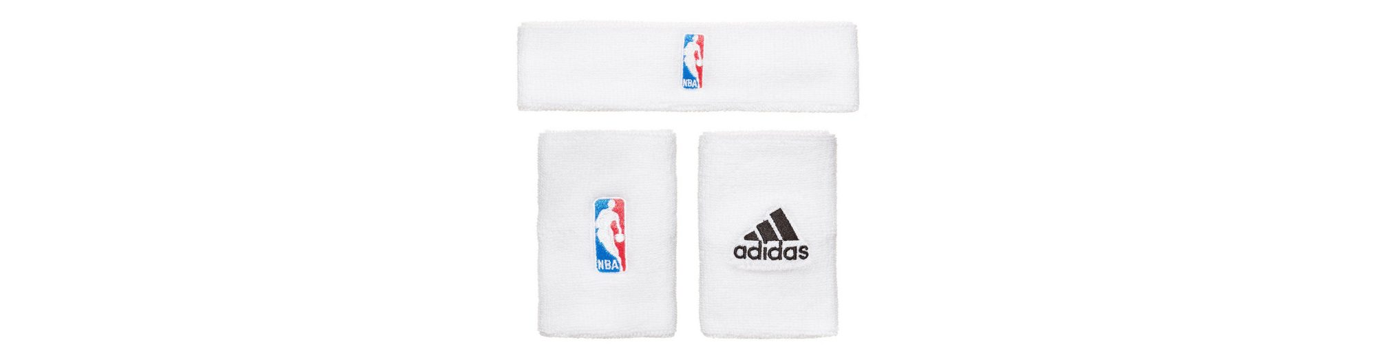 adidas Performance Set: NBA Schweißband Set