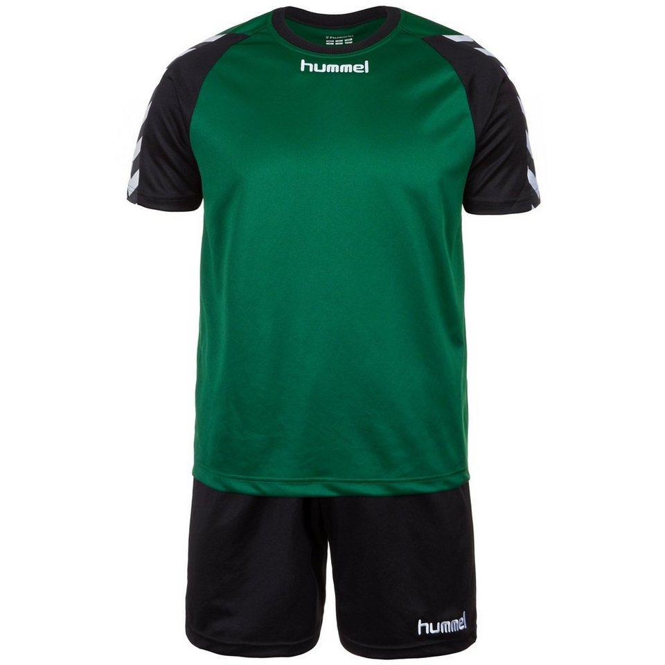 HUMMEL TEAMSPORT Set: Stay Authentic Training Set Herren in grün / schwarz