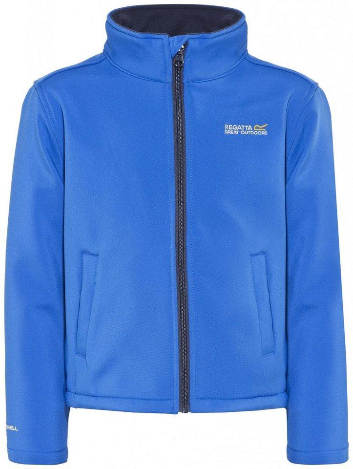 Regatta Outdoorjacke »Canto III Jacket Kids« in blau
