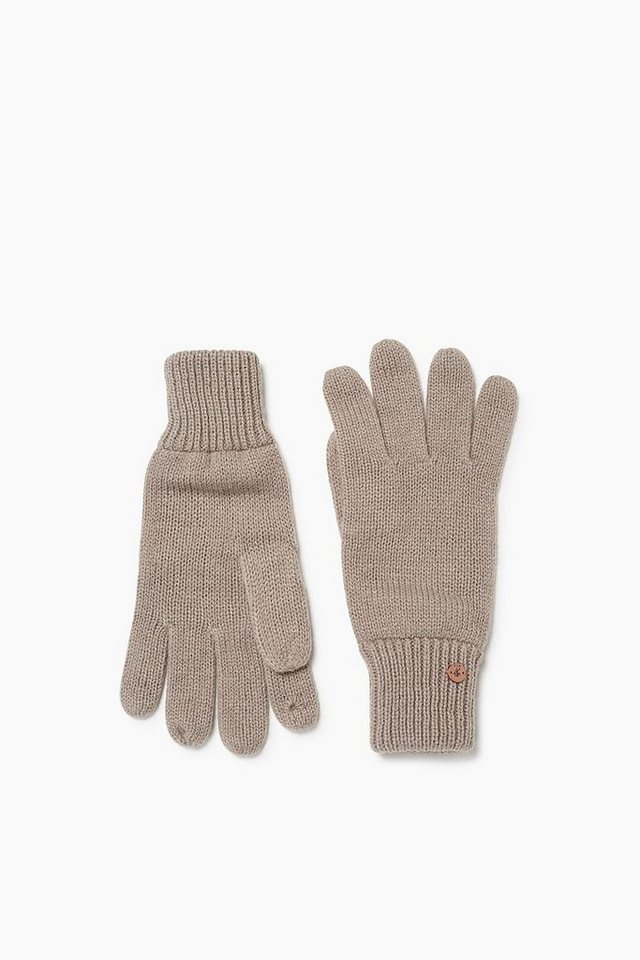 EDC Touchscreen Strickhandschuhe in TAUPE