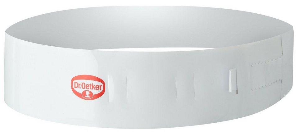 Dr. Oetker Tortenring »Küchenhelfer« in Weiß