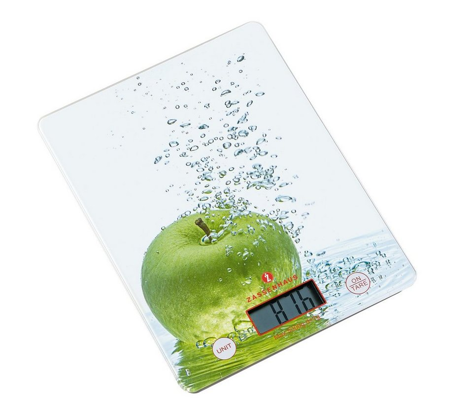 Zassenhaus Digital-Waage »Balance« in Apfel