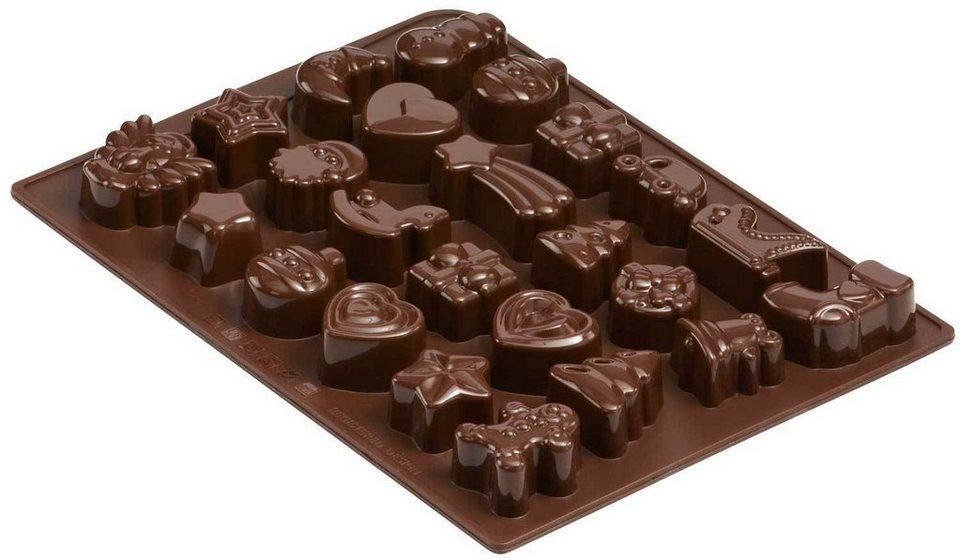 Dr. Oetker Schokoladenform 24 Köstlichkeiten »Confiserie« 1-teilig in Braun