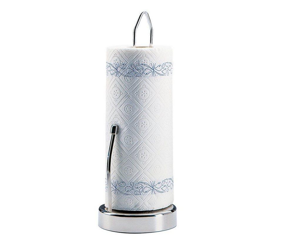 Küchenprofi Papierrollenhalter »mit Stopper« in Silber