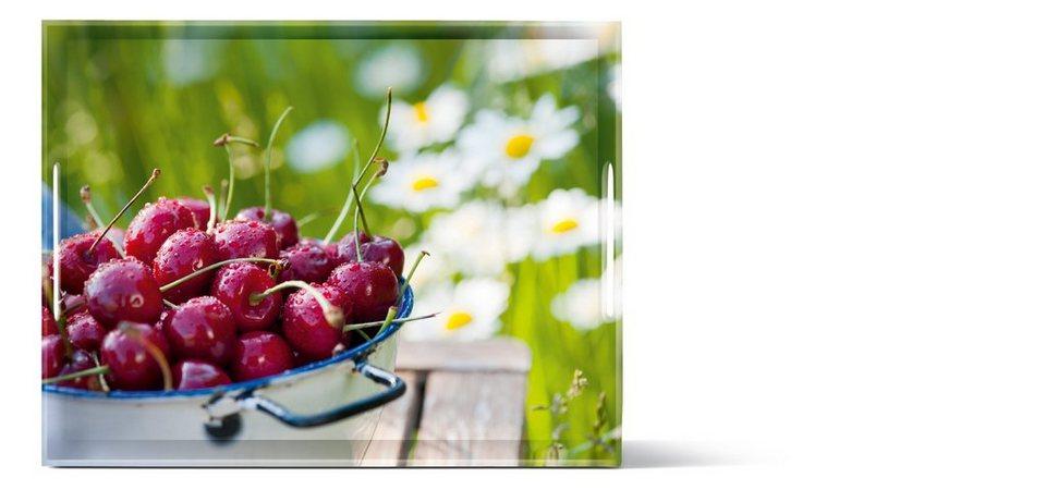 emsa Tablett Cherries »Classic« in Bunt