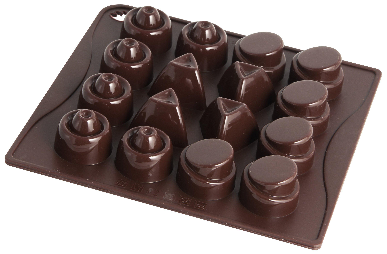 Dr. Oetker Schokoladenform Classic 16 Motive »Confiserie«
