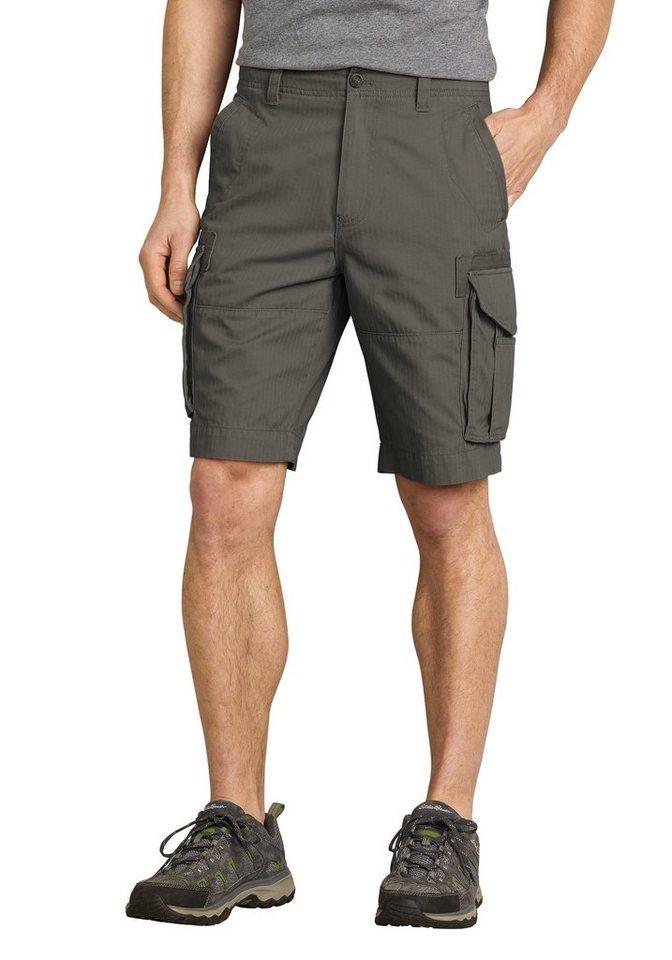 Eddie Bauer Ultimate Cargo-Shorts in Dunkelgrau