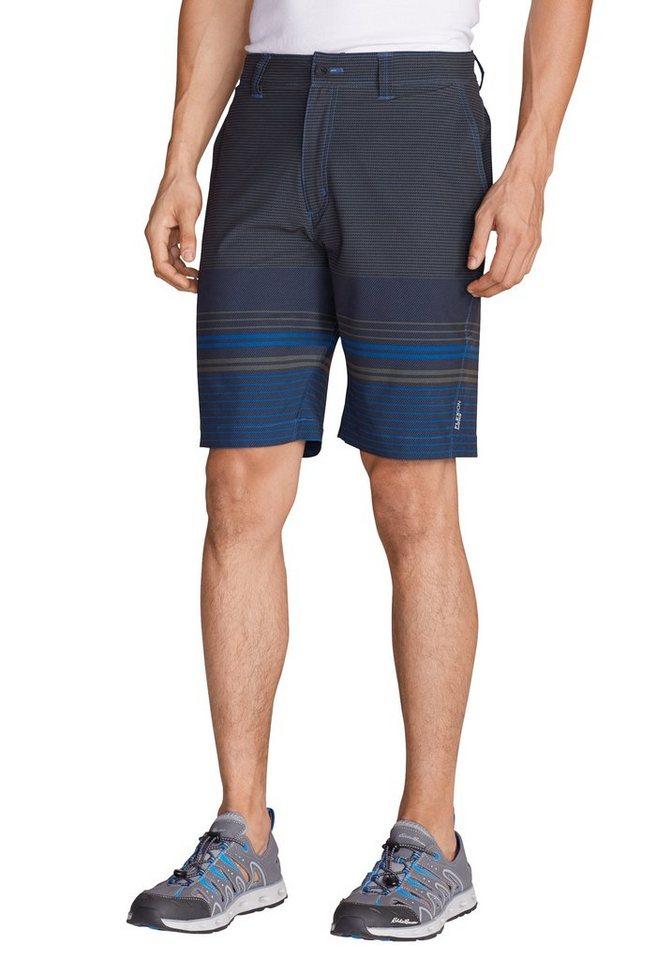 Eddie Bauer Amphib Chino-Shorts - Bedruckt in Navy