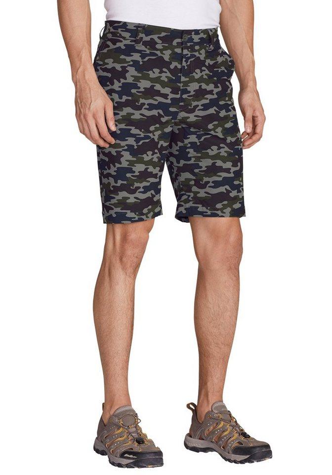 Eddie Bauer Cargo-Shorts - Gemustert in Navy Camouflage