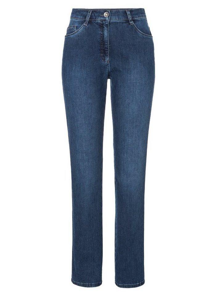 BRAX Jeans »CAROLA DECO« in USED REGULAR BLUE