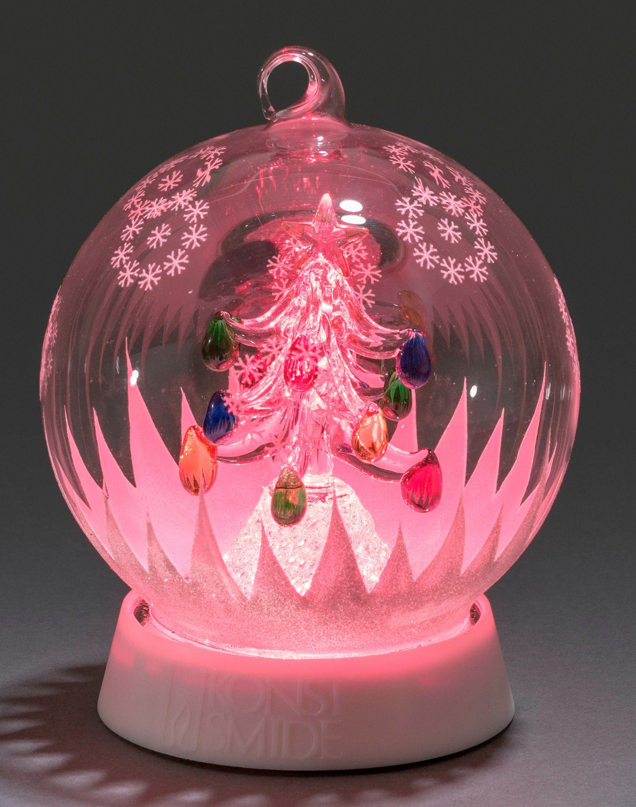 Konstsmide LED Glaskugel, »Weihnachtsbaum«
