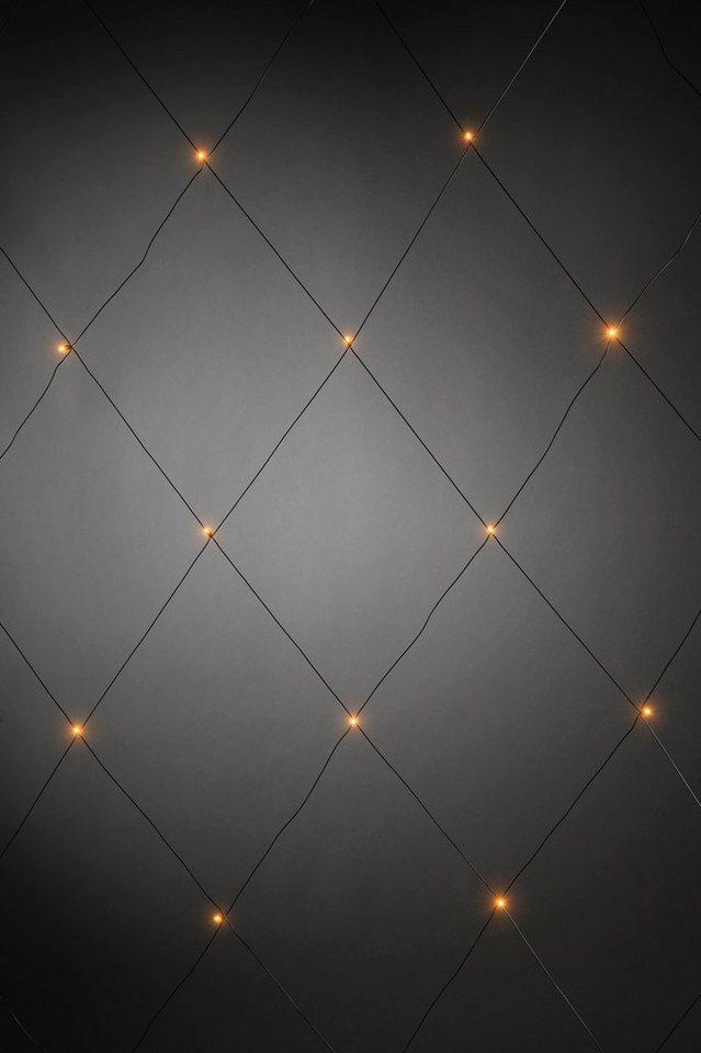 Konstsmide LED Lichternetz in schwarz