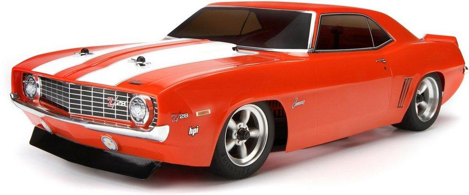 HPI Racing RC Komplettset, »Sprint 2 Sport 1969 Chevrolet Camaro 2,4 GHz 1:10« in rot