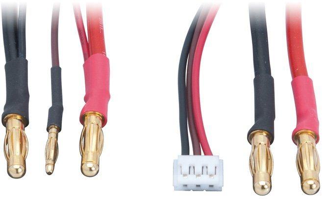 LRP Ladekabel, »Ladekabel 2S Lipo Hardcase inkl. Balancing Adapter«