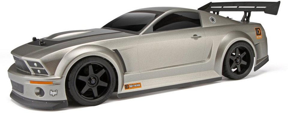 HPI Racing RC Auto, »Sprint Flux RTR Mustang GT-R« in silberfarben