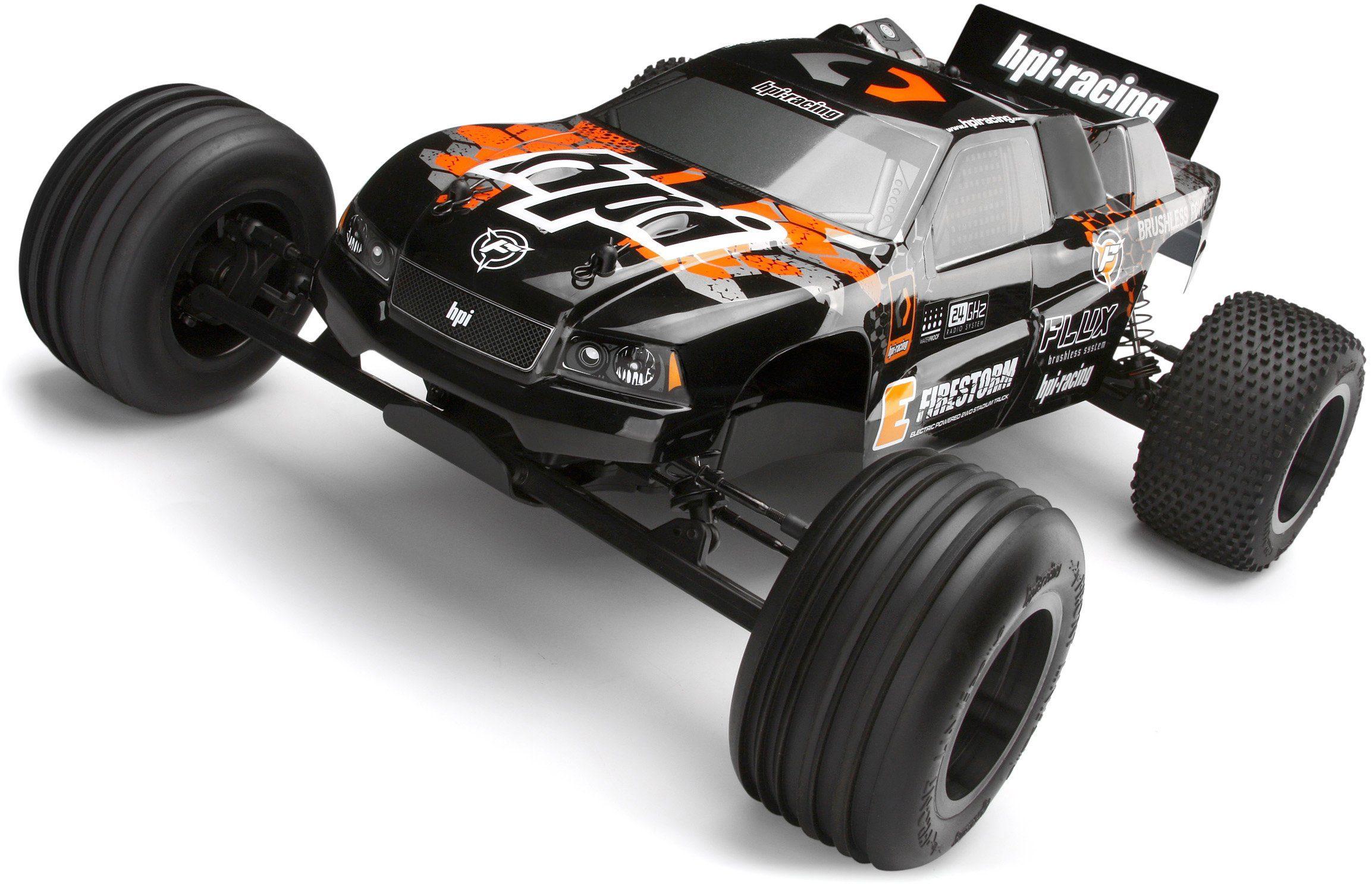 HPI Racing RC Auto, »RC Truggy E Firestorm 10T Flux 2WD 1:10 2,4 GHz«