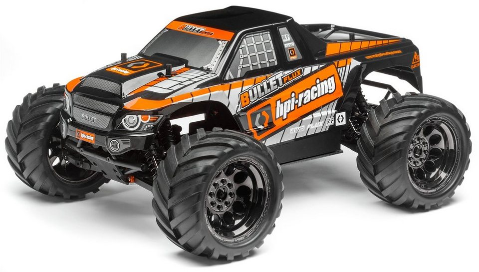 HPI Racing RC Auto, »Bullet MT Flux Brushless Monster Truck 1:10 2,4 GHz«