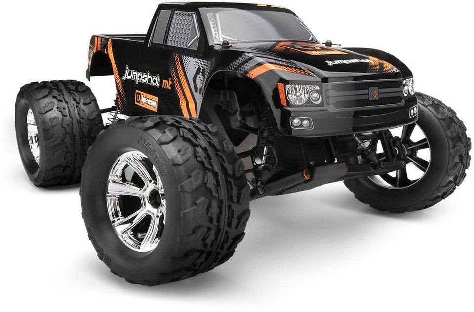 HPI Racing RC Komplettset, »Jumpshot MT 2WD Monster Truck 1:10 2,4 GHz« in schwarz