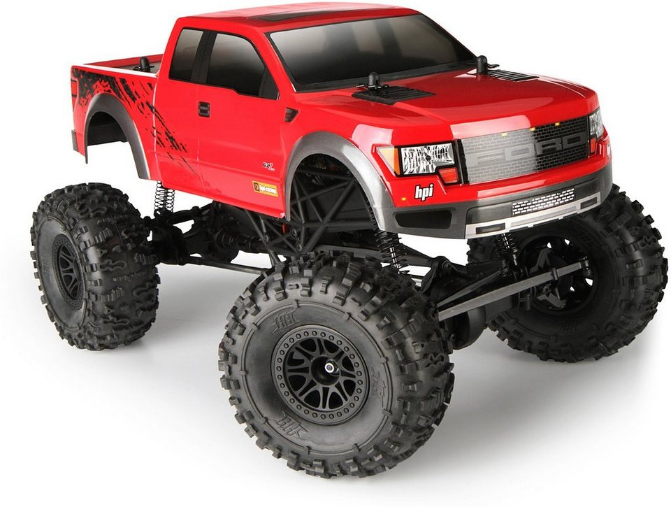 HPI Racing RC Komplettset, »Crawler King, Ford Raptor 1:10 2,4 GHz«