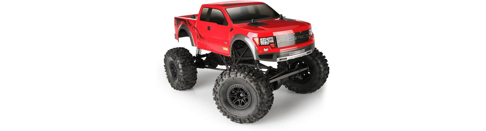 HPI Racing RC Komplettset, »Crawler King, Ford Raptor 1:10 2,4 GHz«