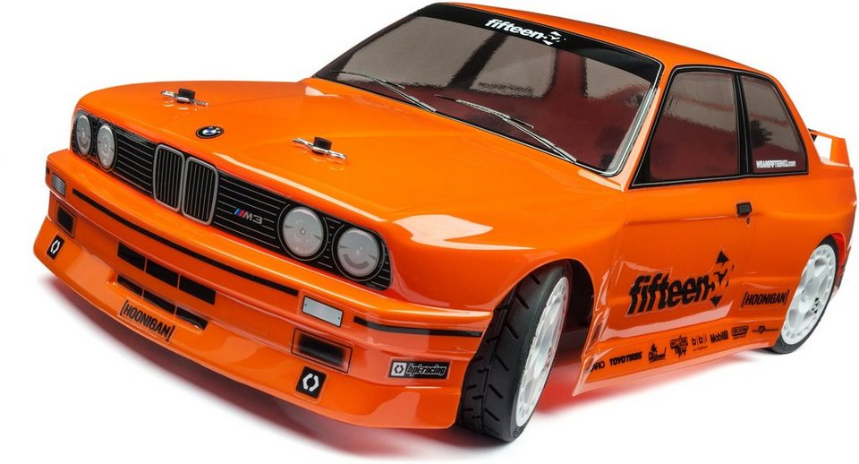HPI Racing RC Komplettset, »RS4 Sport 3, BMW M3 E30 1:10 2,4 GHz« in orange