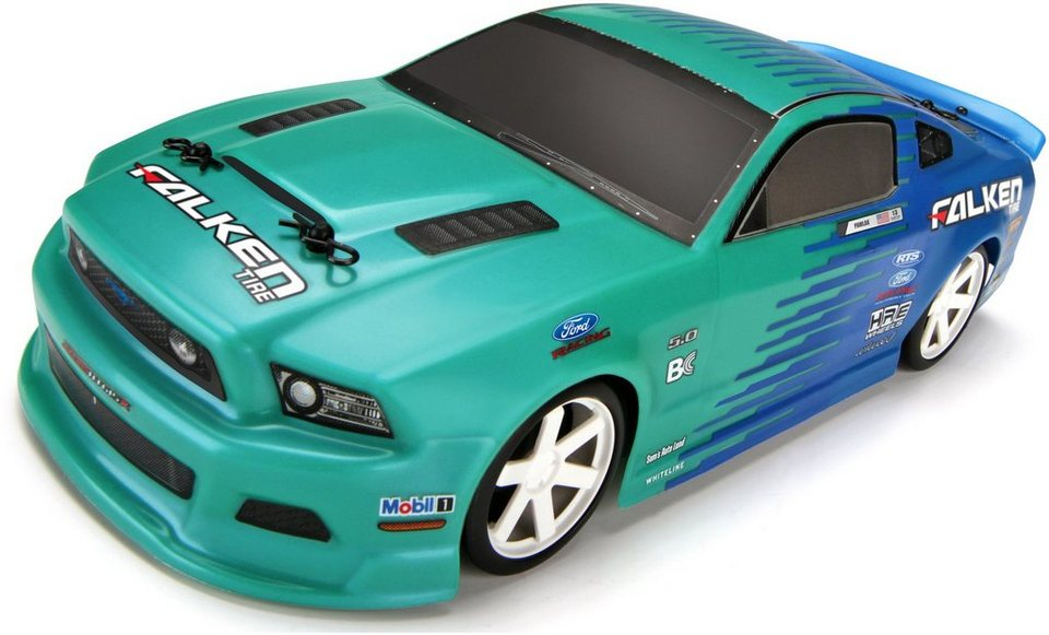 HPI Racing RC Komplettset, »Micro RS4 Drift, Falken Tire 2013 Ford Mustang«