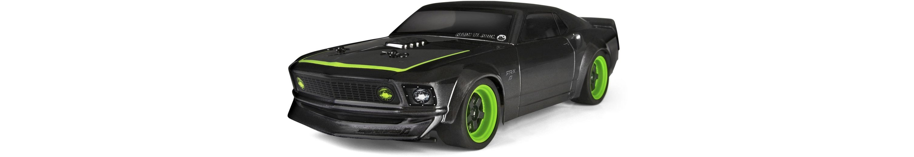 HPI Racing RC Komplettset, »Micro RS4, 1969 Ford Mustang RTR-X 1:18 2,4 GHz«