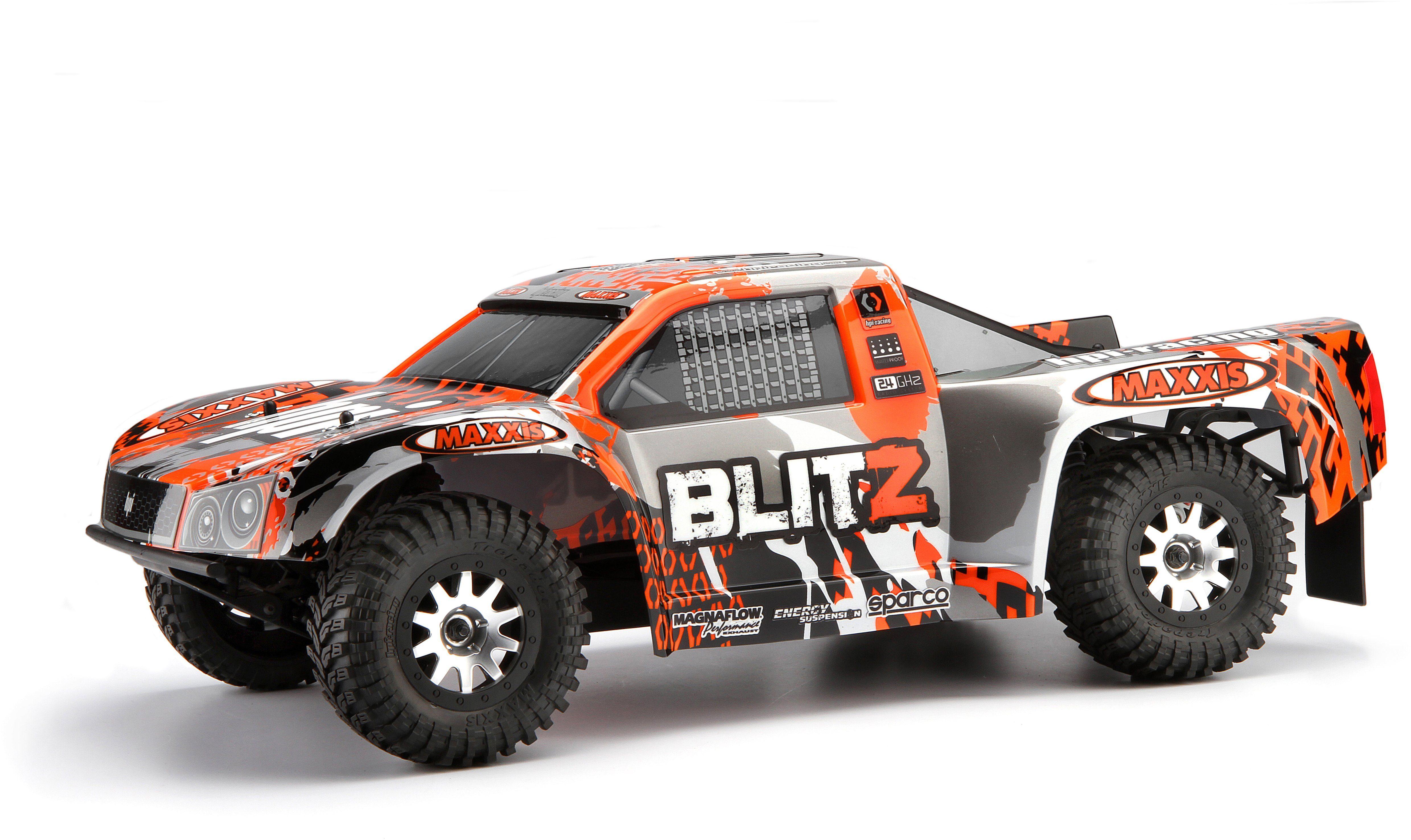 HPI Racing RC Komplettset, »Blitz Short Course Truck 1:10 2,4 GHz«