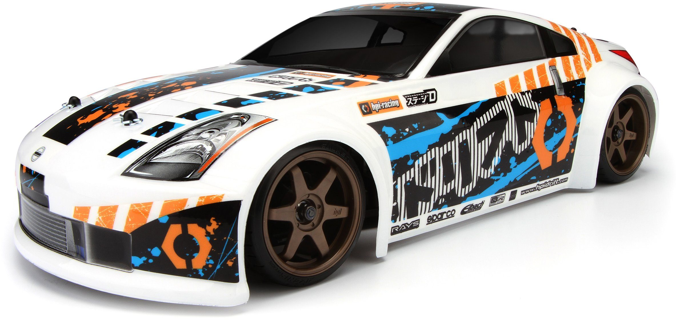 HPI Racing RC Komplettset, »Sprint 2 Drift, Nissan 350Z 1:10 2,4 GHz«
