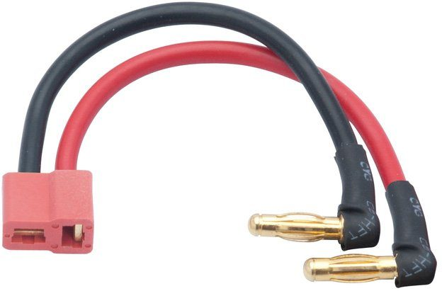 LRP Akku Adapter, »LIPO Hardcase Adapterstecker 4mm Buchse auf US-Style Stecker«