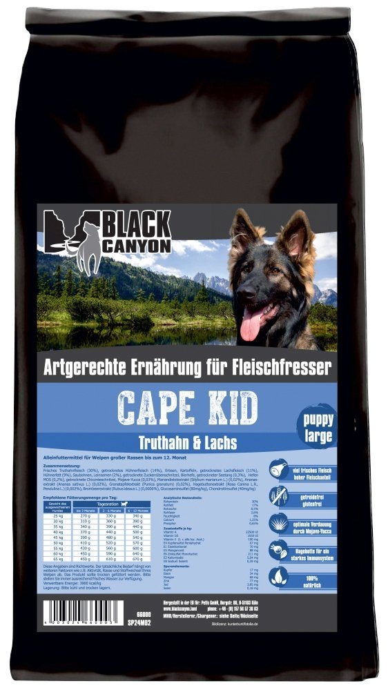 Hundetrockenfutter »Cape Kid Puppy Large«, 15 kg