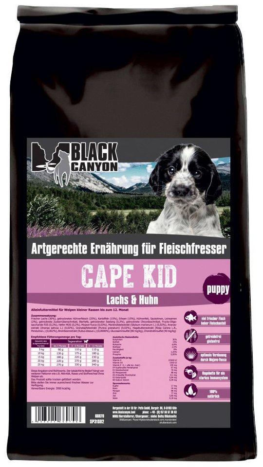 Hundetrockenfutter »Cape Kid Lachs & Huhn«, 1,5 kg in braun