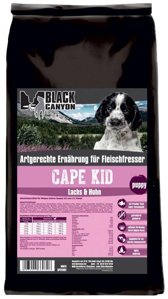 Hundetrockenfutter »Cape Kid Lachs & Huhn«, 5 kg in braun