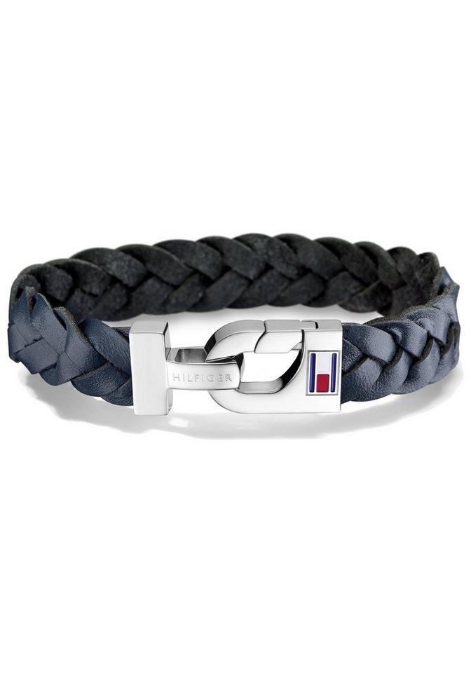 Tommy Hilfiger Armband »Men's Casual, 2700873« in silberfarben-blau