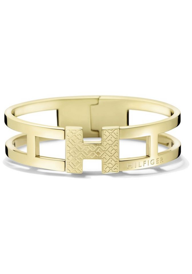 Tommy Hilfiger Armreif »Classic Signature, 2700832« in goldfarben