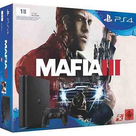 PlayStation 4 (PS4) 1TB Slim + Mafia 3