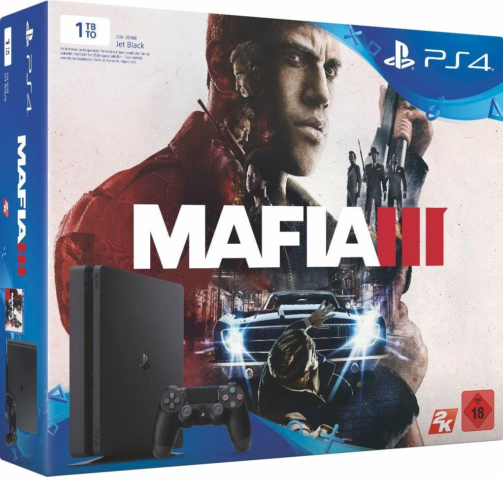 PlayStation 4 (PS4) 1TB Slim + Mafia 3