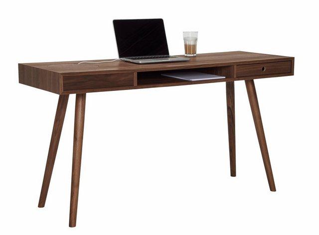 Schreibtische - PBJ Schreibtisch »Classic«, Nordic Design in walnut  - Onlineshop OTTO