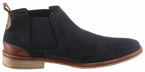Petrolio Chelsea Boots With Stitchings