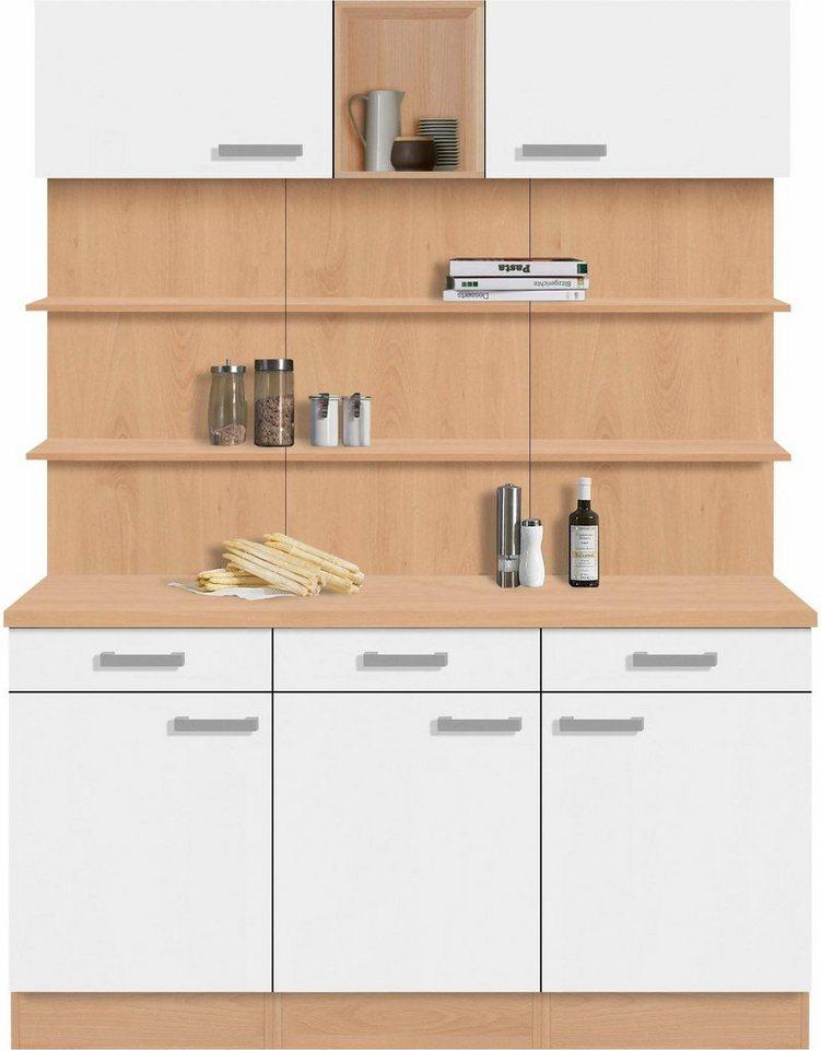 Optifit Küchenbuffet »Odense«, Breite 150 cm in weiß