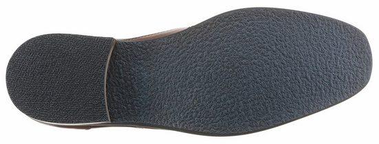 PETROLIO Slipper, mit praktischen Strecheinsätzen