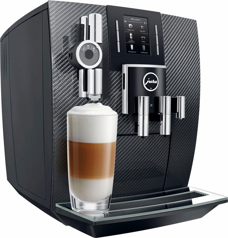 Jura Espresso-/Kaffee-Vollautomat J6 Carbon (Limited Edition) in carbon