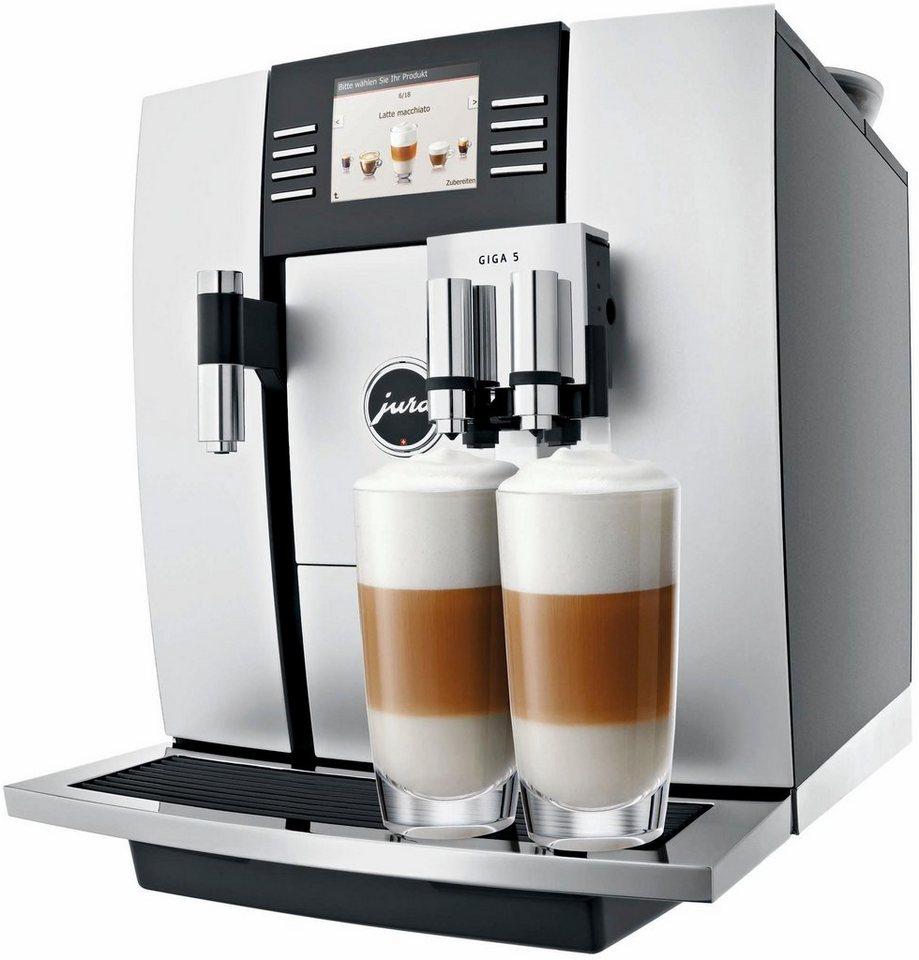 Jura Espresso-/Kaffee-Vollautomat GIGA 5, aluminium in aluminium