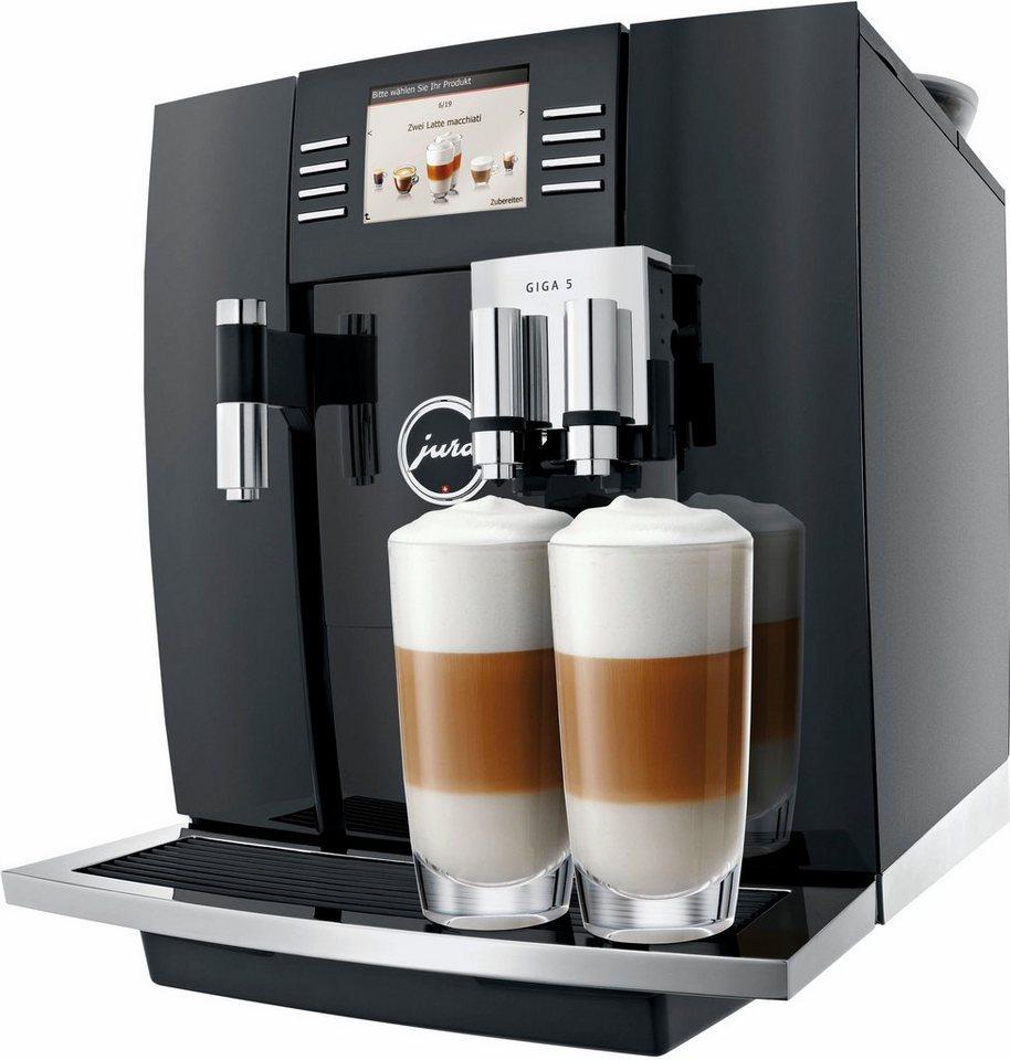 Jura Espresso-/Kaffee-Vollautomat GIGA 5, piano black in piano black