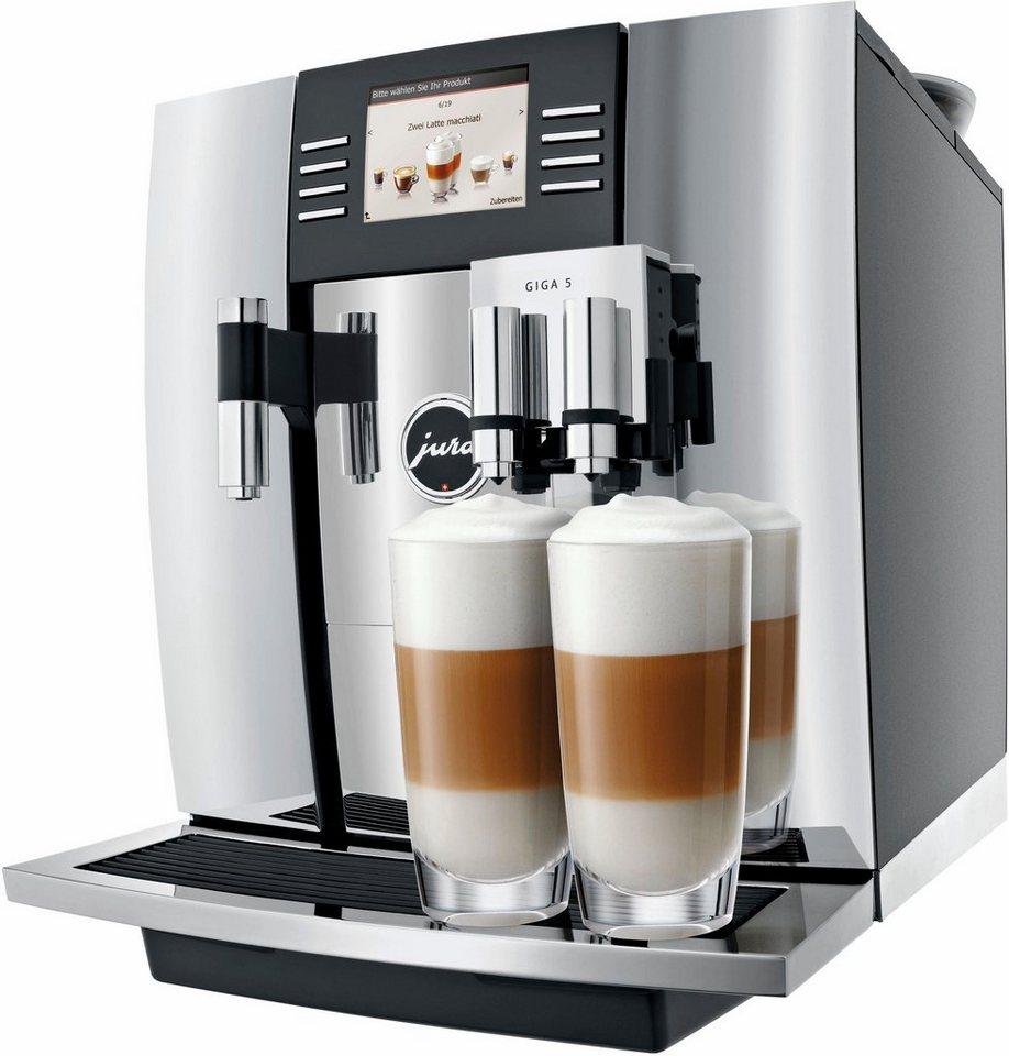 Jura Espresso-/Kaffee-Vollautomat GIGA 5, chrom in chrom