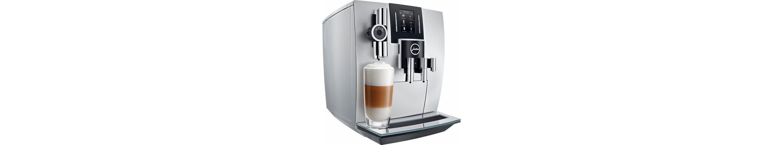 Jura Espresso-/Kaffee-Vollautomat J6, brillantsilber