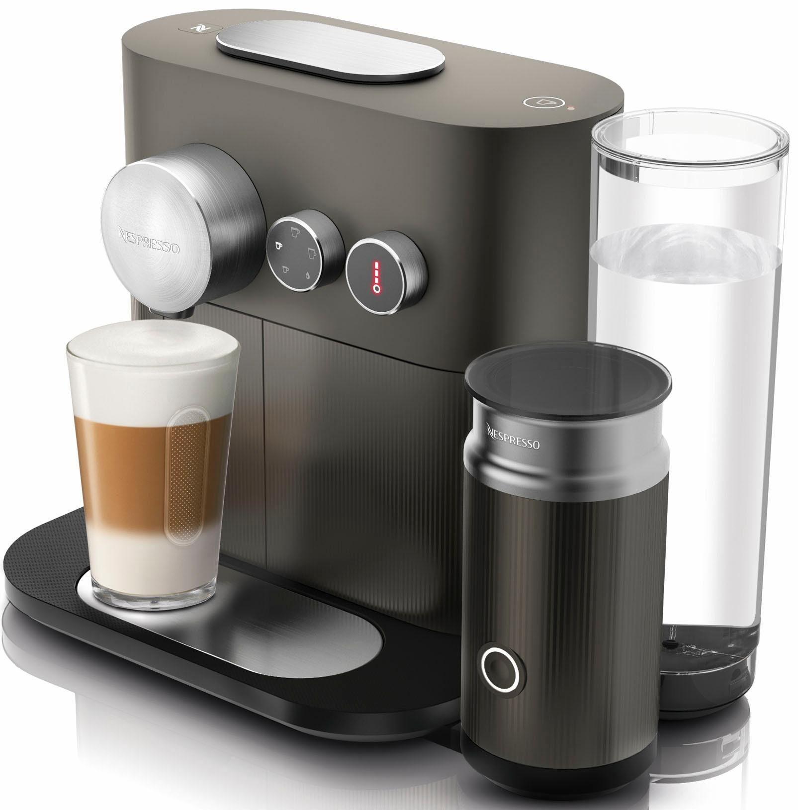 Nespresso Kapselmaschine NESPRESSO Expert&Milk EN355.GAE, mit Aeroccino Milchaufschäumer