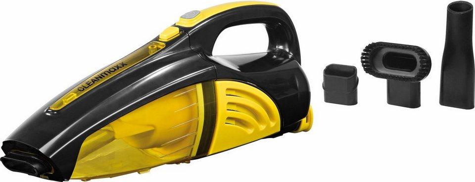 Clean Maxx Akku-Handstaubsauger 2in1, nass/trocken, 7,4V, gelb/schwarz in gelb/schwarz